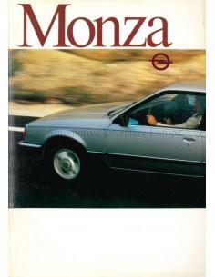 1982 OPEL MONZA & SENATOR BROCHURE DUTCH