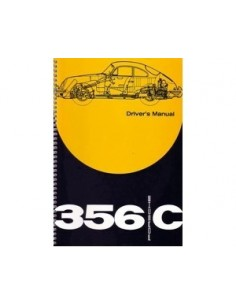 1963 PORSCHE 356 C DRIVERS OWNERS MANUAL