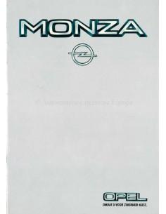 1983 OPEL MONZA C BROCHURE DUTCH