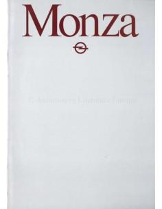 1981 OPEL MONZA C / S BROCHURE DUTCH