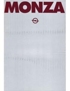 1978 OPEL MONZA BROCHURE ITALIAN