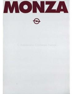 1979 OPEL MONZA C BROCHURE DUTCH