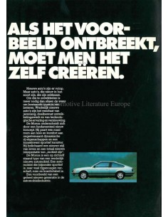 1978 OPEL MONZA BROCHURE DUTCH