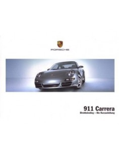 2008 PORSCHE 911 CARRERA QUICK OWNERS MANUAL HANDBOOK GERMAN