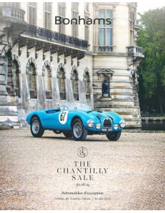2019 BONHAMS THE CHANTILLY SALE VEILING CATALOGUS