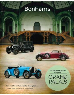 2019 BONHAMS GRAND PALAIS PARIS VEILING CATALOGUS