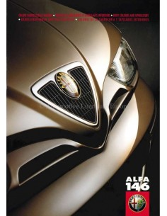 1999 ALFA ROMEO 146  BODY COLOURS AND UPHOLSTERY BROCHURE