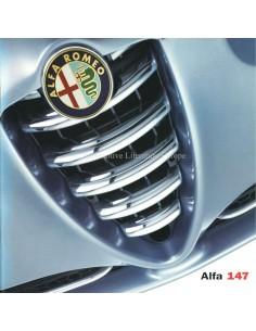 2002 ALFA ROMEO 147 BROCHURE NIEDERLÄNDISCH