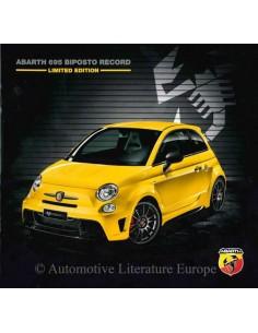 2015 ABARTH 695 BIPOSTO RECORD BROCHURE ITALIAANS