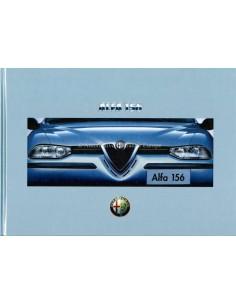 1997 ALFA ROMEO 156 HARDCOVER PROSPEKT NIEDERLÄNDISCH