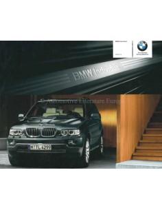 2005 BMW X5 INDIVIDUAL PROSPEKT ENGLISCH