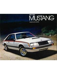 1980 FORD MUSTANG BROCHURE ENGELS (US)