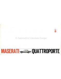 1968 MASERATI QUATTROPORTE I PROSPEKT