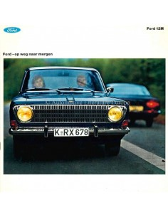 1967 FORD 12M BROCHURE DUTCH