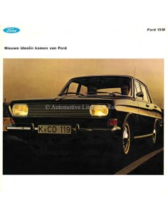 1963 FORD TAUNUS 15M BROCHURE NEDERLANDS