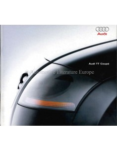 1998 AUDI TT COUPÉ BROCHURE DUTCH