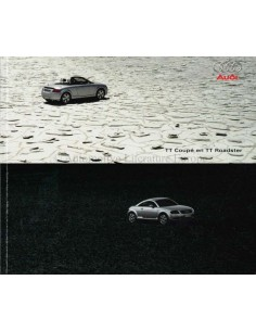 2001 AUDI TT BROCHURE DUTCH