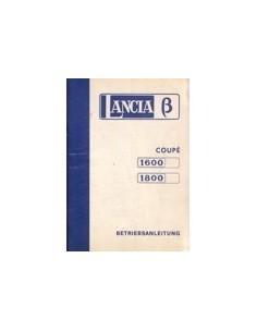 1974 LANCIA BETA OWNERS MANUAL HANDBOOK GERMAN
