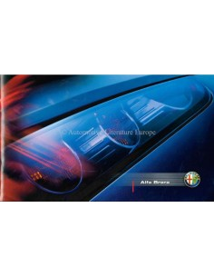 2005 ALFA ROMEO BRERA BROCHURE GERMAN / ENGLISH