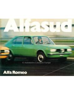 1972 ALFA ROMEO ALFASUD BROCHURE ITALIAN