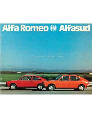 1976 ALFA ROMEO ALFASUD BROCHURE DUTCH