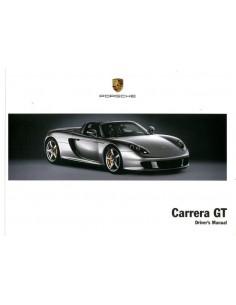 2003 PORSCHE CARRERA GT INSTRUCTIEBOEKJE ENGELS