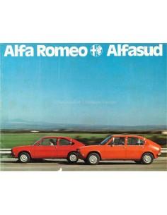 1976 ALFA ROMEO ALFASUD BROCHURE DUITS