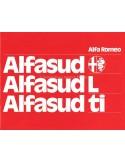 1975 ALFA ROMEO ALFASUD L & TI BROCHURE NEDERLANDS