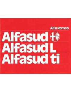 1975 ALFA ROMEO ALFASUD BROCHURE DUTCH