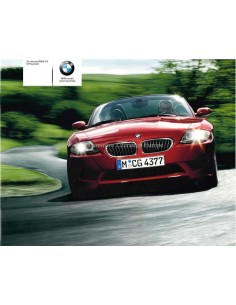 2005 BMW Z4 M ROADSTER BROCHURE DUTCH