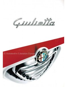 2010 ALFA ROMEO GIULIETTA BROCHURE DUTCH