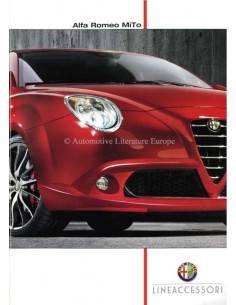 2012 ALFA ROMEO MITO ACCESSORIES BROCHURE DUTCH