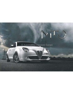 2008 ALFA ROMEO MITO BROCHURE ENGLISH (AUSTRALIA)