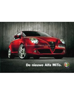 2008 ALFA ROMEO MITO BROCHURE DUTCH