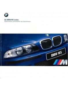 2000 BMW M5 LIMOUSINE PROSPEKT NIEDERLÄNDISCH
