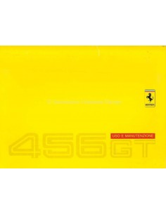 1996 FERRARI 456 GT OWNERS MANUAL (EURO VERSION)