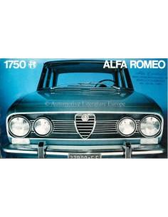 1970 ALFA ROMEO 1750 BERLINA BROCHURE NEDERLANDS