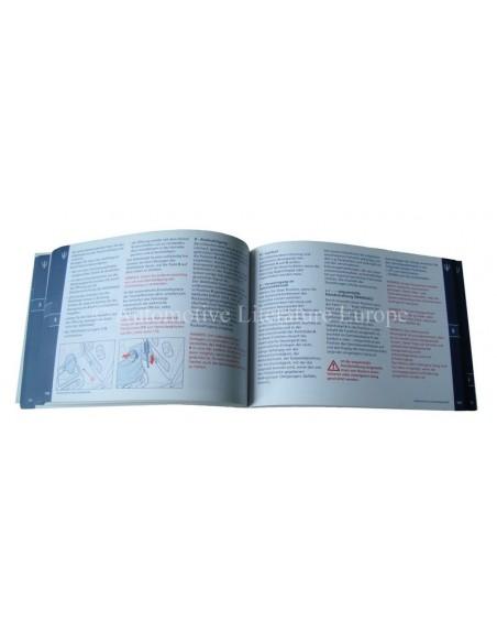 2007 MASERATI QUATTROPORTE V AUTOMATIC INSTRUCTIEBOEKJE DUITS