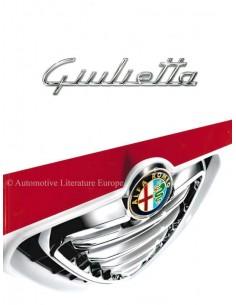 2012 ALFA ROMEO GIULIETTA BROCHURE DUTCH