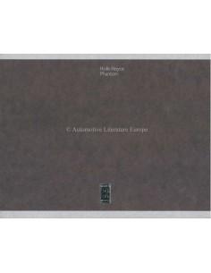 2006 ROLLS ROYCE PHANTOM HARDBACK BROCHURE ENGLISH