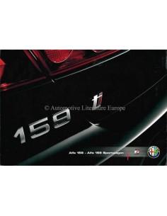 2007 ALFA ROMEO 159 & SPORTWAGON PROSPEKT DEUTSCH