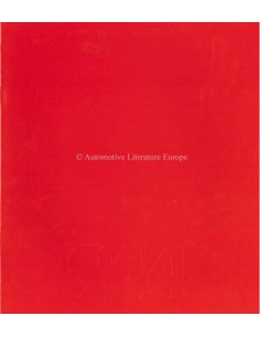 1983 PORSCHE 944 PROSPEKT FRANZÖSISCH