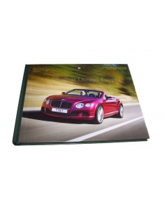 2013 BENTLEY CONTINENTAL & CONVERTIBLE GT SPEED HARDBACK BROCHURE GERMAN