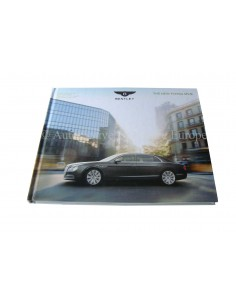 2013 BENTLEY FLYING SPUR HARDCOVER PROSPEKT DEUTSCH