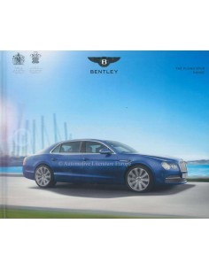2015 BENTLEY FLYING SPUR HARDCOVER PROSPEKT DEUTSCH