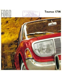 1966 FORD TAUNUS 17M BROCHURE DUTCH