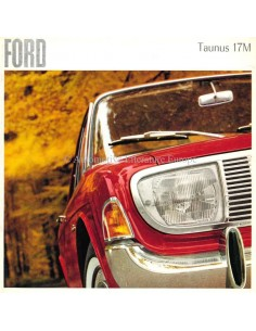 1965 FORD TAUNUS 17M BROCHURE DUTCH