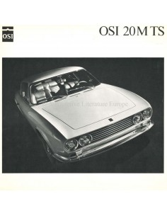 1968 OSI-FORD 20M TS PROSPEKT DEUTSCH