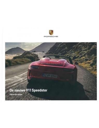 2019 PORSCHE 911 SPEEDSTER HARDCOVER BROCHURE DUTCH