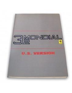1986 FERRARI 3.2 MONDIAL BETRIEBSANLEITUNG USA AUSGABE 397/85